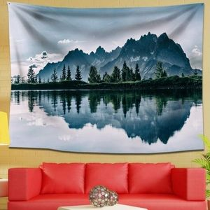 Other - 🏔 Mountain Nature Scened Tapestry 🏔